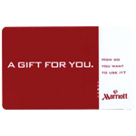 MARRIOTT<sup>®</sup> $100 Gift Card