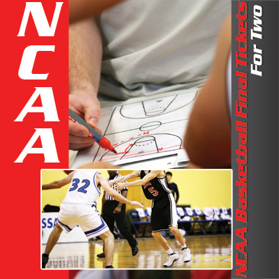 NCAA<sup>&reg;</sup> Basketball Final Tickets - It's college basketball's biggest game!  Get 2 tickets to the NCAA Division I Men's Basketball Championship game. Tickets subject to availability based on date of request. Airfare not included.