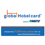 ORBITZ GLOBAL HOTEL CARD<sup>®</sup> $25 Gift Card